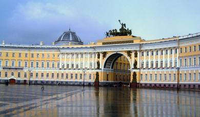 Заставка к записи - Восток и Запад встречаются в Санкт-Петербурге